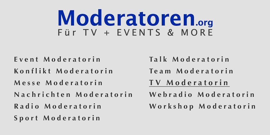 TV Moderatorinnen
