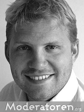 Businessmoderator Matt Beadle Moderatoren.org