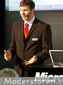 Businessmoderator Hendrik Fritsch, Berlin, Deutschland San Sebastián, Spanien Amsterdam, Niederlande