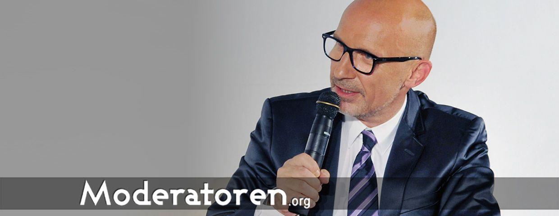 Event-Moderator Stephan Pregizer, Berlin, Deutschland Moderatoren.org
