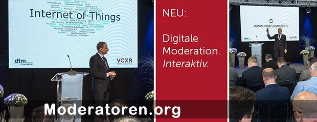 Event-Moderator Tim Schlüter Moderatoren.org