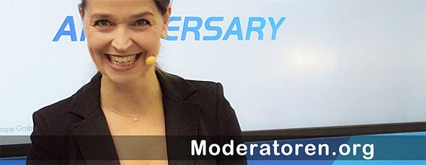 Event-Moderatorin Carina Bastuck Moderatoren.org