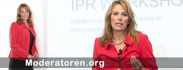 Event-Moderatorin Katrin Seifarth Moderatoren.org
