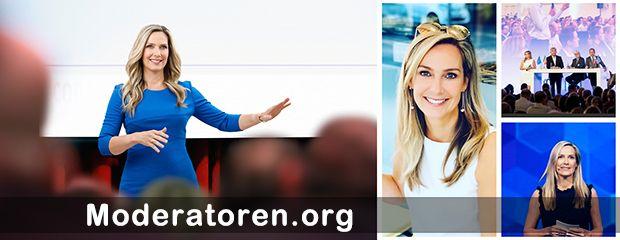 Eventmoderatorin Christiane Stein Moderatoren.org