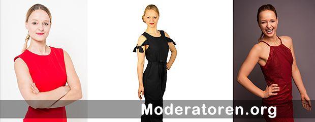 Event-Moderatorin Isabella Enzenhofer Moderatoren.org