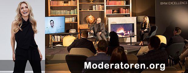 Event-Moderatorin Petra Bindl Moderatoren.org