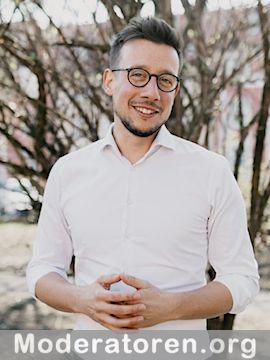 Gala Moderator Patrick Diemling Moderatoren.org