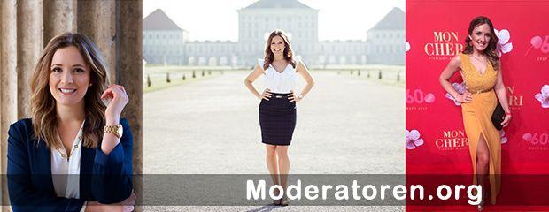 Galamoderatorin Anna Noé Moderatoren.org