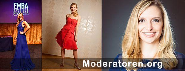 Galamoderatorin Janine Mehner Moderatoren.org
