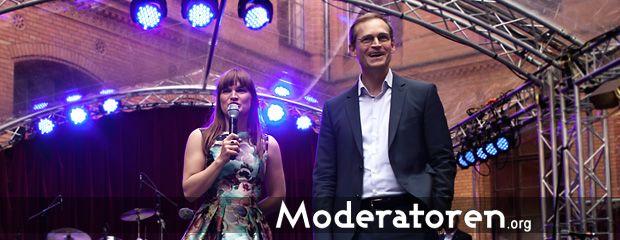 Galamoderatorin Nadine Kreutzer Moderatoren.org