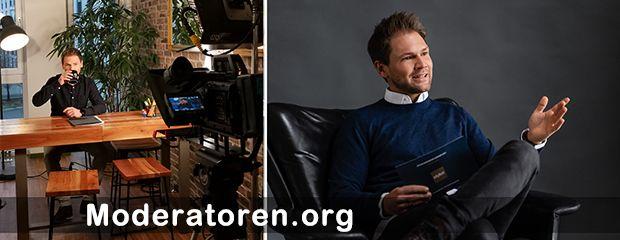 Hybrid Event Moderator Tobias Witton Moderatoren.org