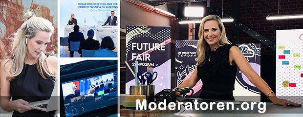 Hybrid Event Moderatorin Christiane Stein Moderatoren.org