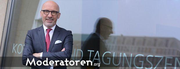 Kongressmoderator Stephan Pregizer Moderatoren.org