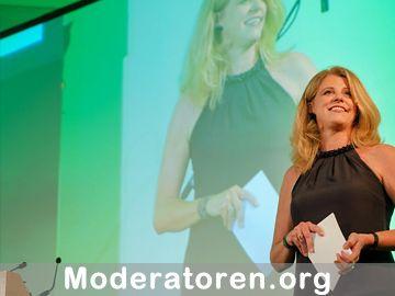 Kongressmoderatorin Antje Schreiber Moderatoren.org