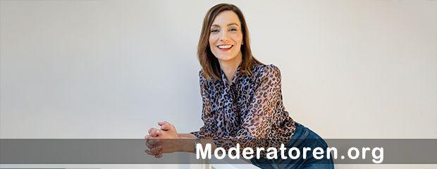 Kongressmoderatorin Daniela Bublitz Moderatoren.org