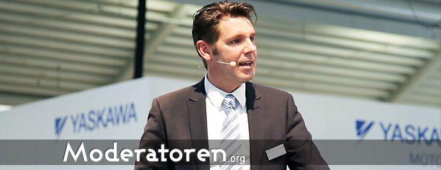 Messemoderator Axel Steinmüller Moderatoren.org
