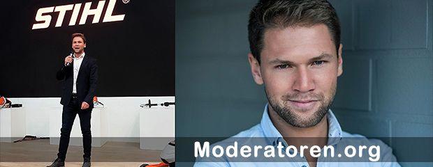 Messemoderator Tobias Witton Moderatoren.org