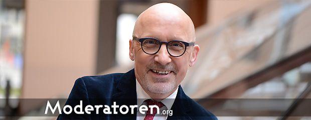 Messemoderator Stephan Pregizer Moderatoren.org