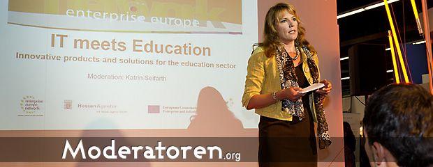 Messe Moderatorin Katrin Seifarth Moderatoren.org