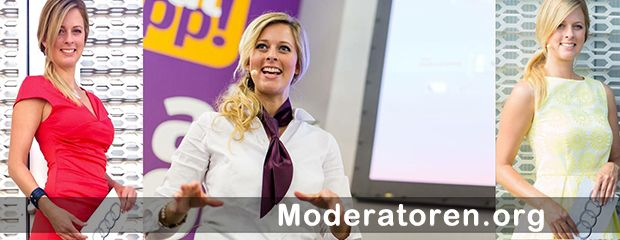 Moderatorin Maxi Sarwas Moderatoren.org