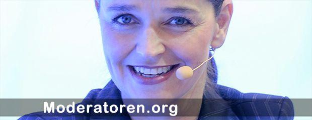 Messemoderatorin Carina Bastuck Moderatoren.org