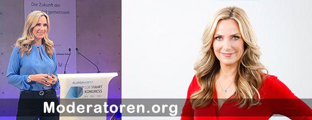 Kongressmoderatorin Christiane Stein Moderatoren.org