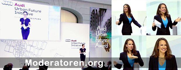 Moderatorin Désirée Duray Moderatoren.org