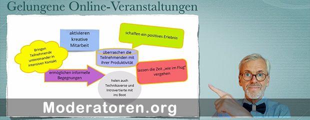 Online-Moderator Rolf Schneidereit Moderatoren.org