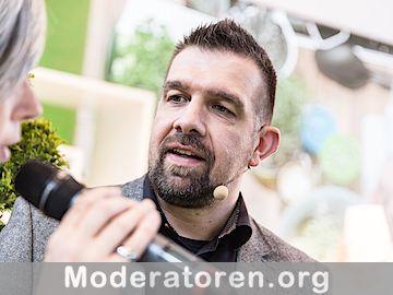 Sportmoderator Michael Bernatek Moderatoren.org