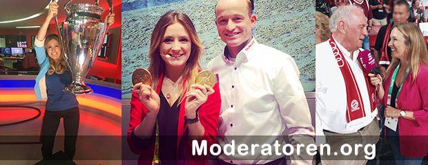 Sportmoderatorin Anna Noé Moderatoren.org