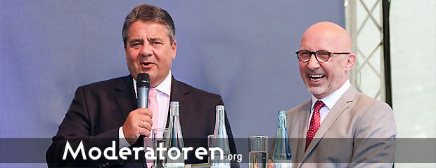 Talk Moderator Stephan Pregizer Moderatoren.org