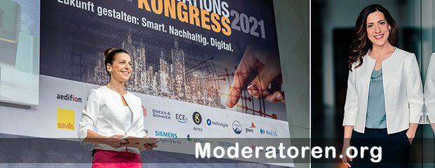 Veranstaltungsmoderatorin Carina Jantsch Moderatoren.org