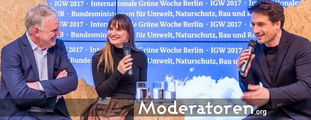 Veranstaltungsmoderatorin Nadine Kreutzer Moderatoren.org