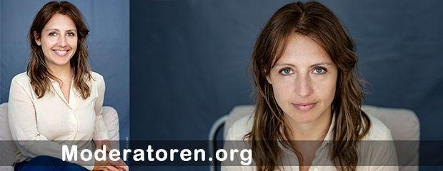 Web-TV Moderatorin Dorothee Marecki Moderatoren.org