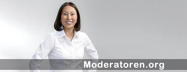 Wirtschaftsmoderatorin Ariane Bertz Moderatoren.org