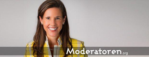Wirtschaftsmoderatorin Corinna Egerer Moderatoren.org