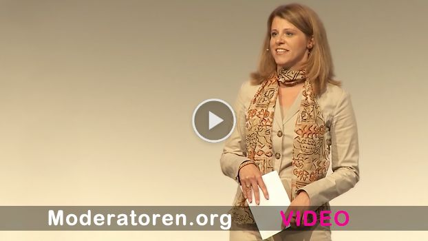 Kongress Moderatorin Video Showreel Antje Schreiber - Moderatoren.org